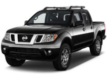 Nissan Frontier Towing Capacity Chart (2016 – 2021)