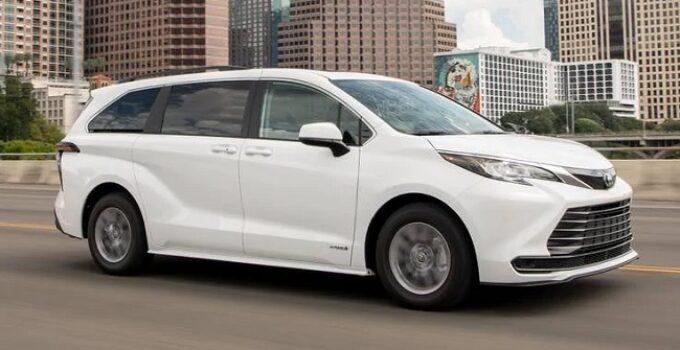 Toyota Sienna Wiper Blades Size Chart