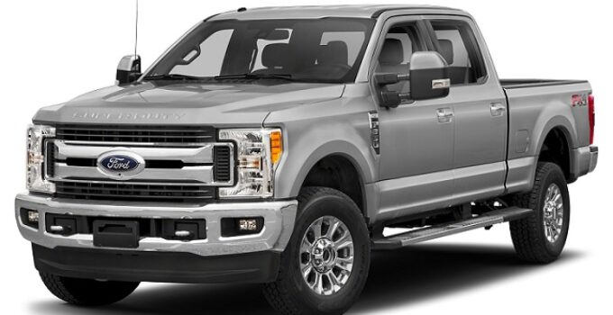 Ford F250 Towing Capacity Chart (2016 – 2021)