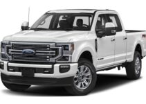 Ford F350 Tire Size Chart (2012 – 2021)