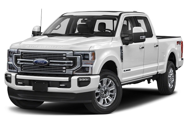 ford f350 tire size chart